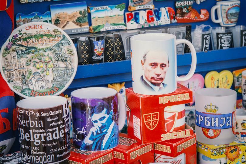 Za svaku rusofilsku dušu: Megastore na Kalemegdanu prepun Putina pre botoxa