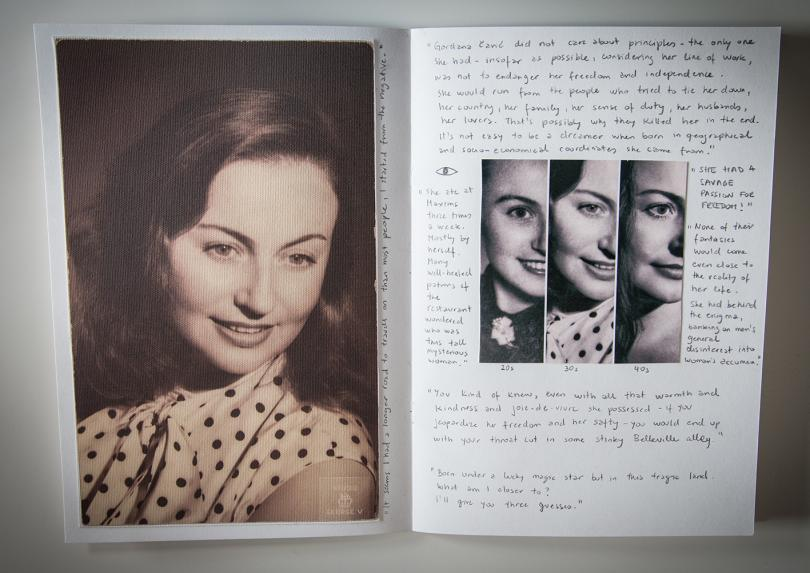 She was so beautiful, like she was her own creator, chapter delves into the story of the disappearance of my aunt Gordana Čavić from rural Yugoslavia in the 1950s, and her subsequent death in Paris in the 1980s. A life shrouded in mystery, it involves tales of multiple identities, illicit sex and espionage.