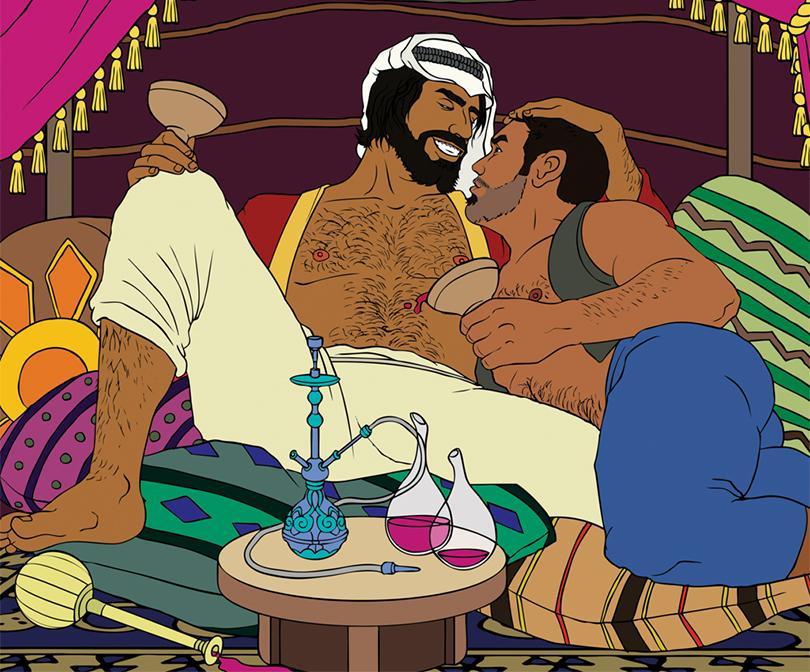 crne gay scene seksa