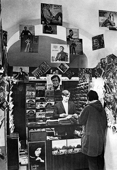 U ritmu svetskih trendova: Radnja Jugotona u Ljubljani, sedamdesetih godina