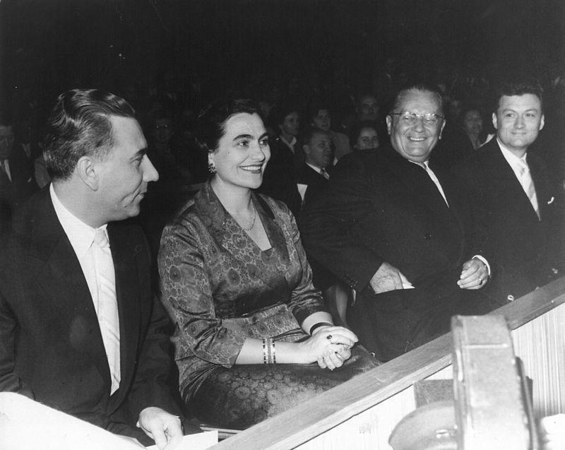 Brionski plenum: Aleksandar Ranković, Jovanka Broz, Josip Broz Tito