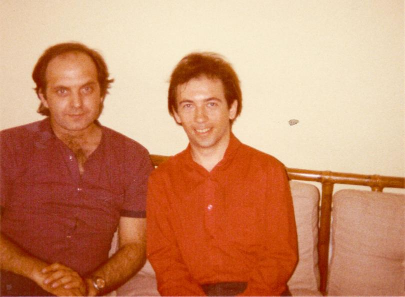 London, summer 1982: Petar Luković & Pete Shelley