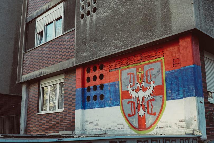 Samo Putin Srbiju Spašava: Najnoviji mural s Novog Beograda