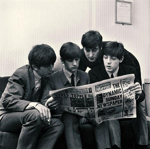 Šta pišu o nama: The Beatles čitaju Sunday Mirror