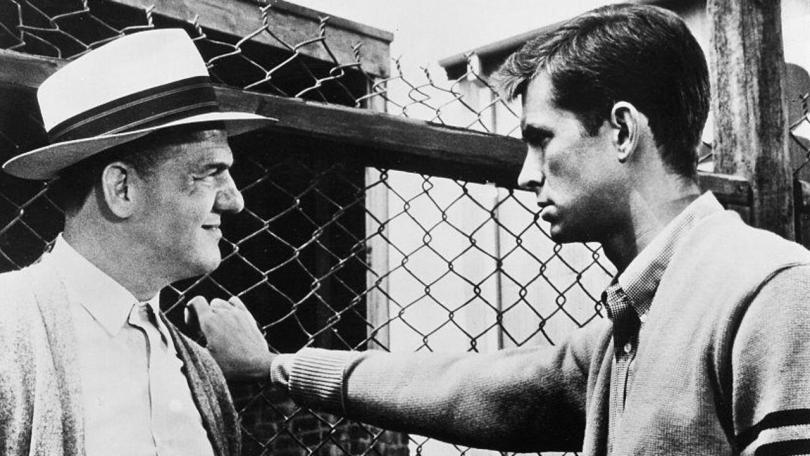 Fear Strikes Out: Karl Malden i Anthony Perkins