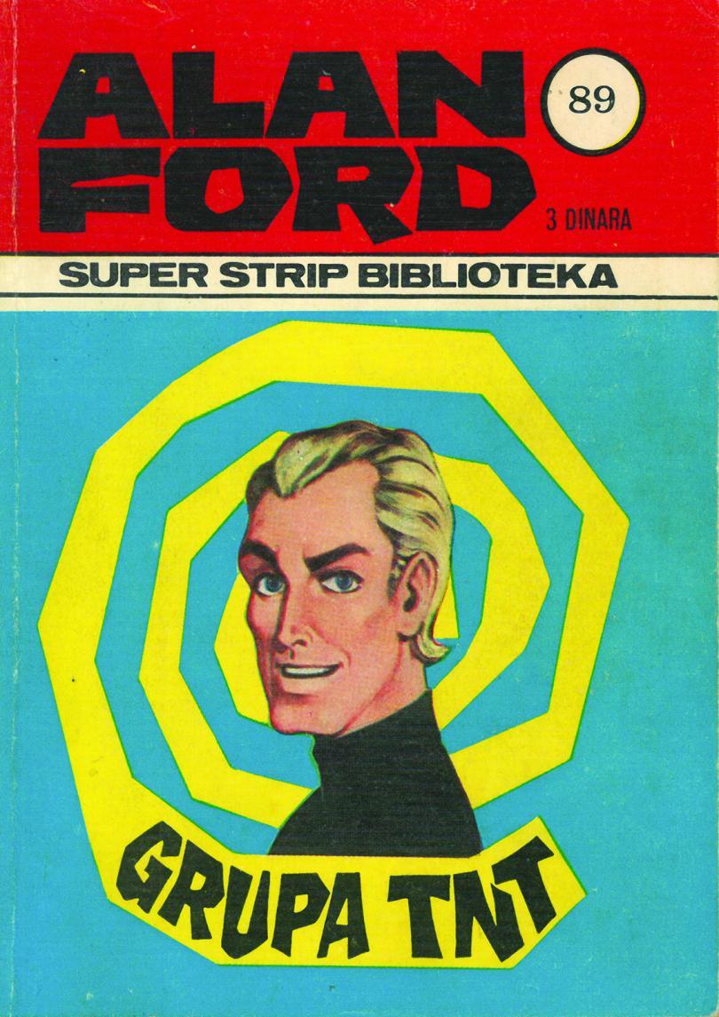 Alan Ford, prvo izdanje u Jugoslaviji