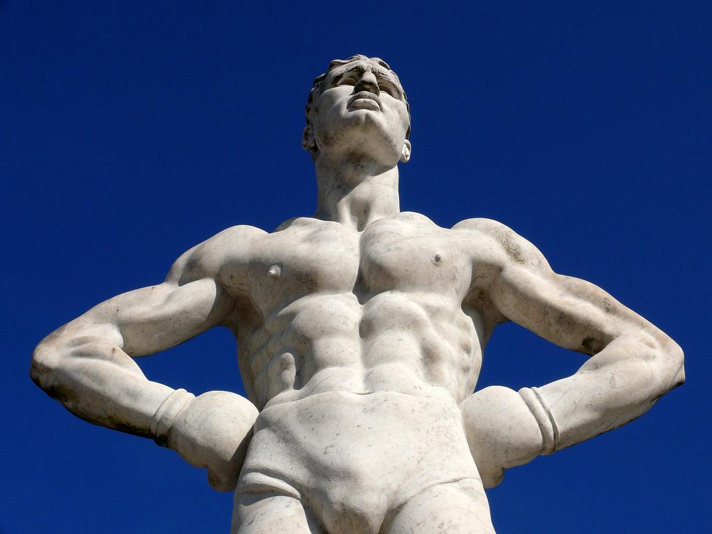 греческий атлет картинка это такое